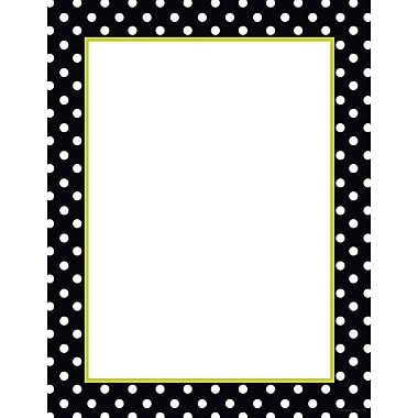 Great Papers® Black and White Dots Letterhead, 80/Pack