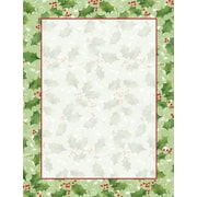 Great Papers® Holiday Stationery Jolly Holly , 80/Count