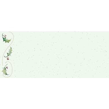Great Papers® Holiday Card Envelopes Holly Bunch , 40/Count