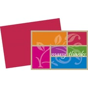 Great Papers® Color Block Thank You Cards, 24/Pack