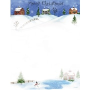 Great Papers® Holiday Stationery  Count Folk  Art Village, 80/Count