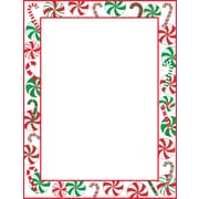 Great Papers® Peppermint Party Letterhead, 80/Pack