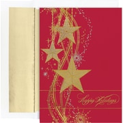 Great Papers® Holiday Cards Shimmering Stars  , 16/Count