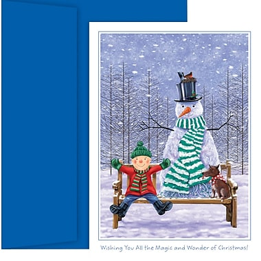 Great Papers® Holiday Cards The Magic And Wonder Of Christmas , 18/Count