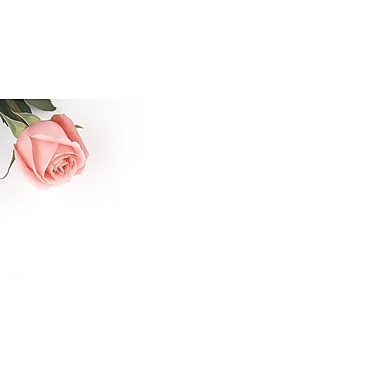 Great Papers® Pink Rose Petals #10 Envelopes, 50/Pack