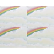 Great Papers® Rainbow 4-Up Postcards, 100/Pack