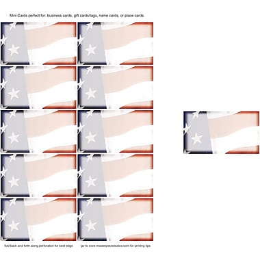 Great Papers® Old Glory Business Cards, 200/Pack