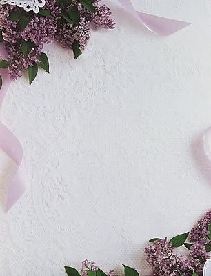 Great Papers® Lilacs & Lace Letterhead 80 count