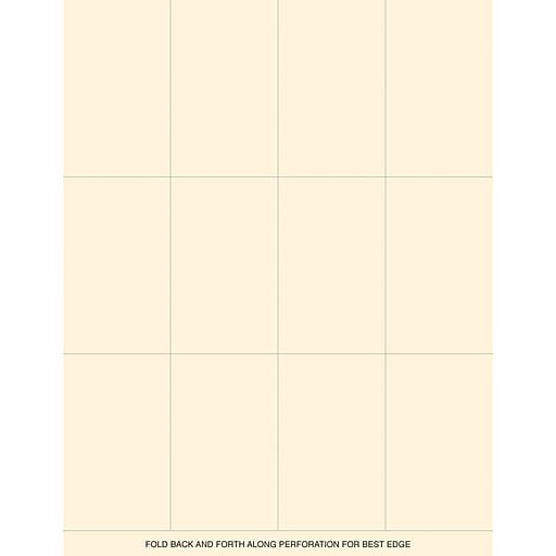 Shop Staples For Great Papers® Ivory Place Cards, 120/Pack