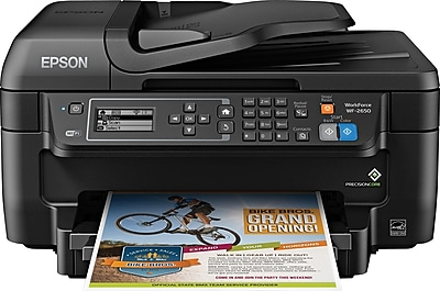 Epson WorkForce WF-2650 All-in-One Printer (C11CD77201)