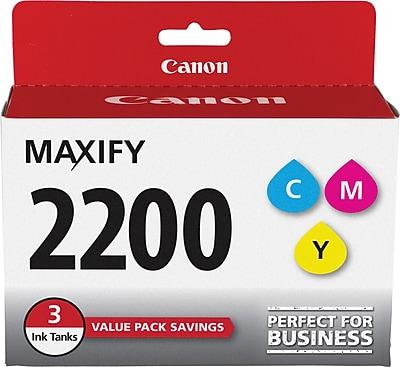 Canon PGI-2200 Color (C/M/Y) Ink Cartridges (3 cart per pack)
