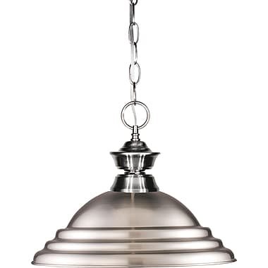 Z-Lite (100701BN-SBN) 1 Light Pendant, 16