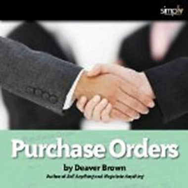 Purchase Orders: The Neglected Art, livre audio [Download]