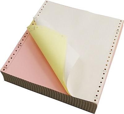 Staples Multi-Part Colored Computer Paper, 9 1/2