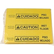 "Rubbermaid Over-The-Spill 17.40""L  x 14.90""W Yellow Medium Absorbent Pad, 25/Pack (FG425300YEL)"