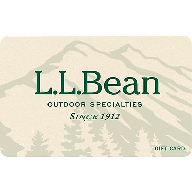 L.L. Bean Gift Card $100 (Email Delivery)