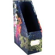Cynthia Rowley Magazine File, Dark Blue Floral (43604)