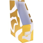 Cynthia Rowley Magazine File, Gold Abstract (43605)