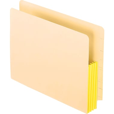 Pendaflex® Manila End-Tab File Pocket, Letter Size