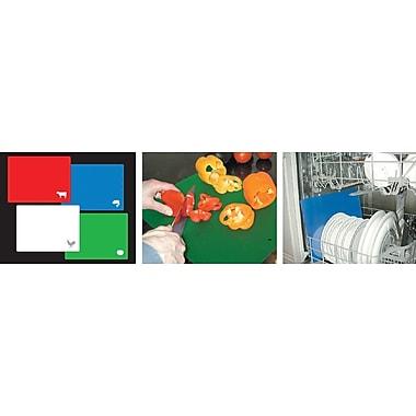 Marathon Management – Planches à découper flexible, couleurs variées, 4/paquet