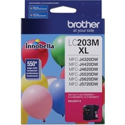 Brother (LC203M) Magenta Ink Cartridge, High Yield
