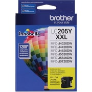Brother LC205 Yellow Ink Cartridge, Super High Yield (LC205YS)