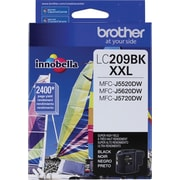 Brother Ink Cartridge, Black , Super High Yield (LC209BKS)