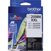 Brother Genuine LC209BK Black Super High Yield Original Ink Cartridge