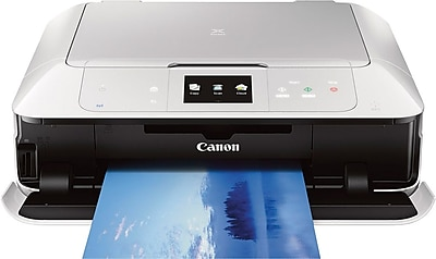 Canon PIXMA MG7520 Wireless Inkjet Photo All-In-One Printer White (9489B002)