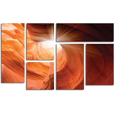 Moises Levy 'Smooth II' Gallery-Wrapped Canvas Art, 6-Panel Set
