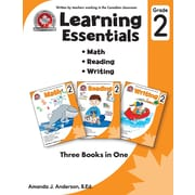 Grade 2 Learning Essentials, Math, Reading & Writing, anglais, livre num. (téléch. - 1 utilis.) ,ISBN 978177062198