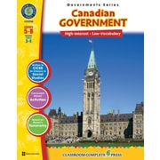 Our Canadian Government, anglais, 5e à 8e années, par Classroom Complete Press (téléch. 1 util.), 9781553199564