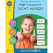 Literacy Skills Series,High Frequency Sight Word, livre num. anglais, matern. à 1re année (téléch. 1 util.), ISBN 9781553199120