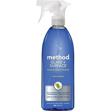 Method Mint Scent Natural Glass & Surface Cleaner 28oz (3)