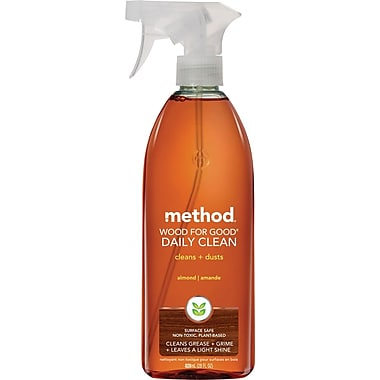 Method® Wood for Good Daily Clean Spray, Almond, 28 oz.
