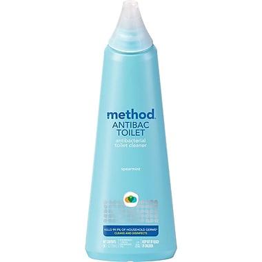 Method Anti-bacterial Toilet Cleaner, Spearmint, 24 oz. (01221)
