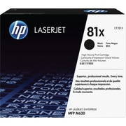 HP 81X (CF281X) Black High Yield Original LaserJet Toner Cartridge
