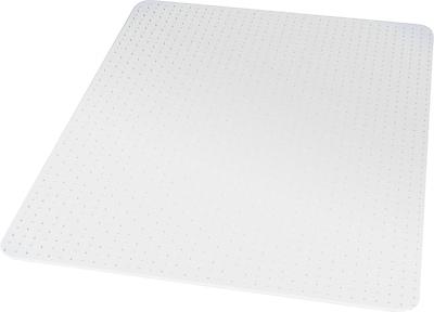 ES Robbins Robbins; 60''x46'' Vinyl Chair Mat for Carpet, Rectangular (ESR141052)