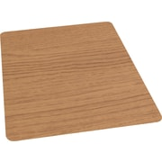 "Staples 36"" x 48"" Laminate Chair Mat for Hard Floors, Chestnut"