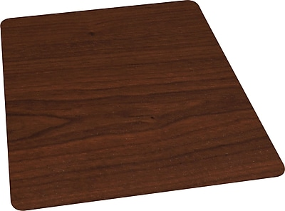 Staples 174 36 Quot X 48 Quot Wood Veneer Style Chair Mat For Hard