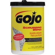 "GOJO® Scrubbing Towels, 10 1/2""W x 12 1/4""L, 72 Wipes/Canister, 6/Ct"