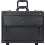 Solo Classic Rolling Catalog Laptop Case, Black (B78-4)