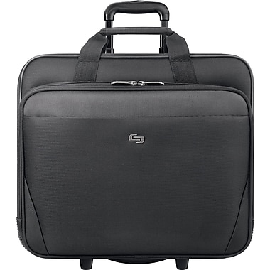Solo Classic Rolling Laptop Case, Black (CLS910-4)