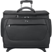 Solo® Classic Rolling Catalog Case w/ Padded Laptop Compartment for Laptops, Black, 15.6""
