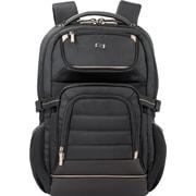 Solo Pro Black Mesh Laptop Backpack (PRO742-4)