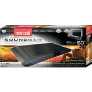 Maxell Soundbars, 4 Watts, Black