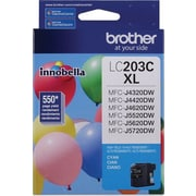 Brother LC203 Cyan Ink Cartridge, High Yield (LC203CS)
