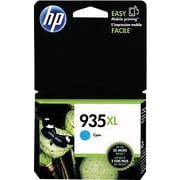HP 935XL Cyan Ink Cartridge (C2P24AN#140), High Yield