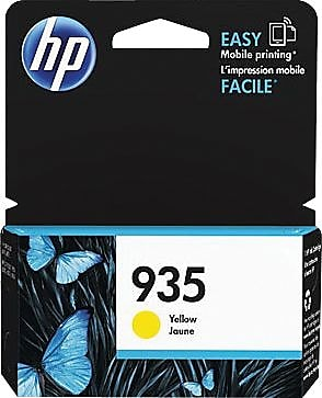 HP 935 (C2P22AN#140) Yellow Ink Cartridge