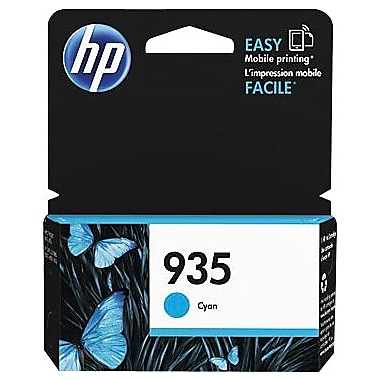 HP - Cartouche d'encre originale 935, cyan